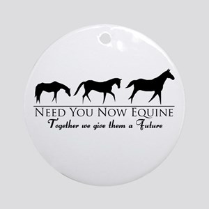Need You Now Equine Ornament (Round)