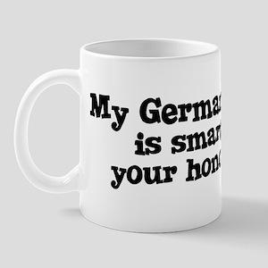 Honor Student: My German Shep Mug