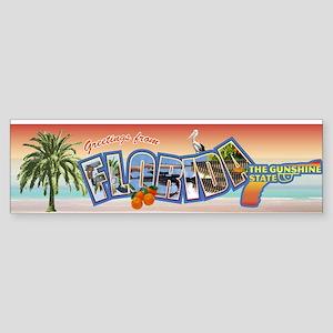 Florida, The Gunshine State Sticker (Bumper)