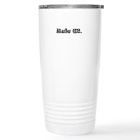 B Stainless Steel Travel Mug