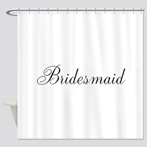 Bridesmaid Shower Curtain
