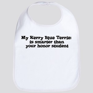 Honor Student: My Kerry Blue  Bib