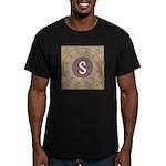 Prairie Promises Monogram Men's Fitted T-Shirt (da