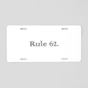 M Aluminum License Plate