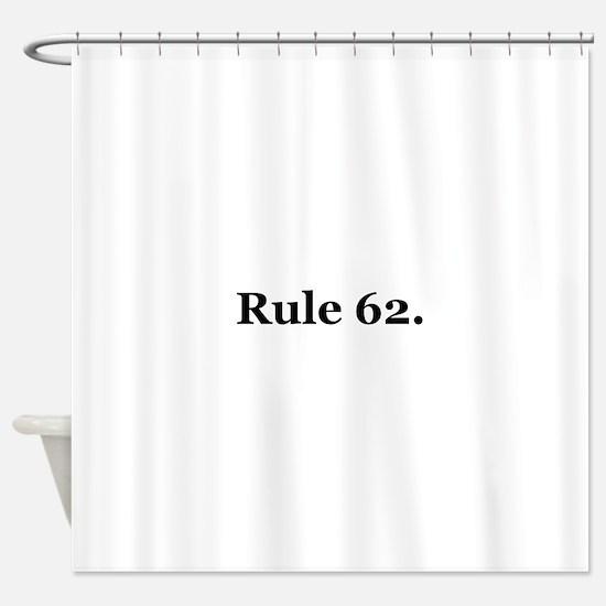 P Shower Curtain