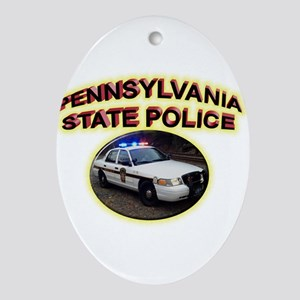 Pennsylvania State Police Ornament (Oval)