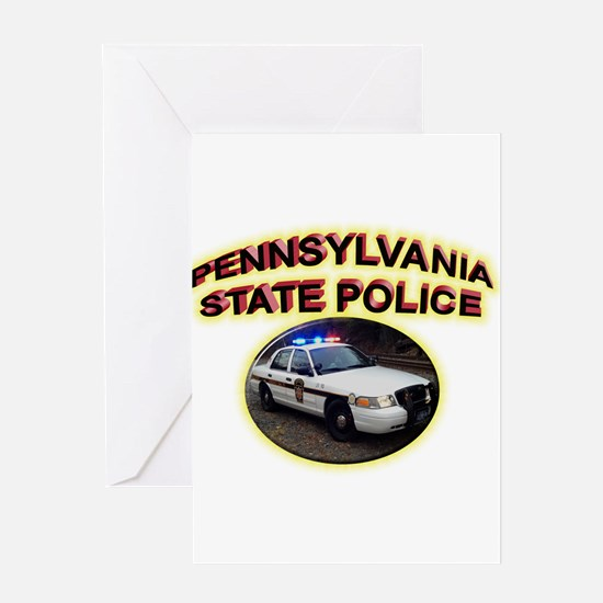 Pennsylvania State Police Greeting Card