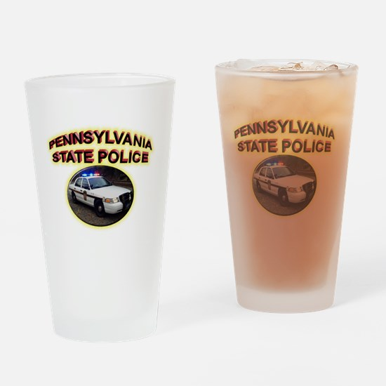 Pennsylvania State Police Drinking Glass
