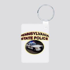 Pennsylvania State Police Aluminum Photo Keychain
