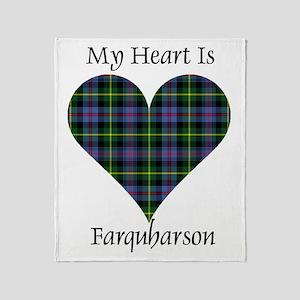 Heart - Farquharson Throw Blanket