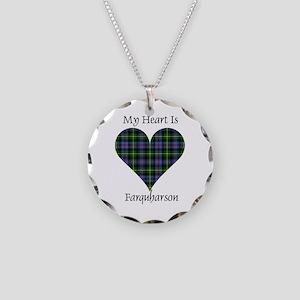Heart - Farquharson Necklace Circle Charm