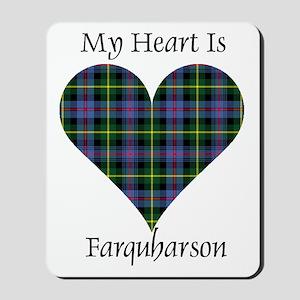 Heart - Farquharson Mousepad