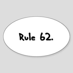 R Sticker (Oval)