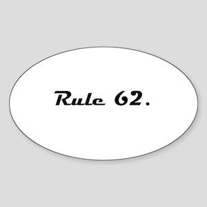 S Sticker (Oval)