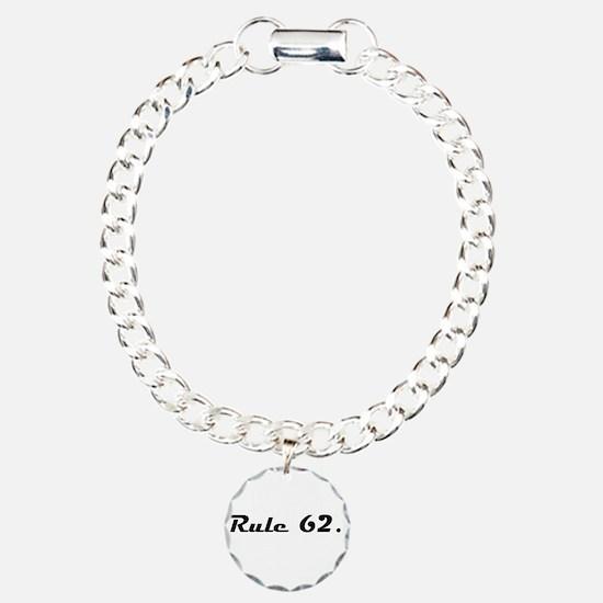 S Charm Bracelet, One Charm