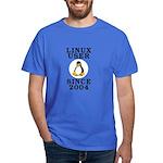 Linux user since 2004 - Dark T-Shirt