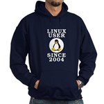 Linux user since 2004 - Hoodie (dark)