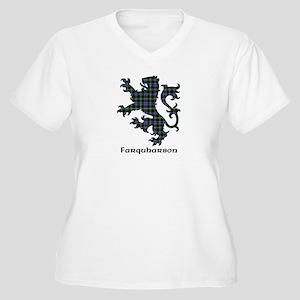 Lion - Farquharson Women's Plus Size V-Neck T-Shir