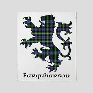 Lion - Farquharson Throw Blanket