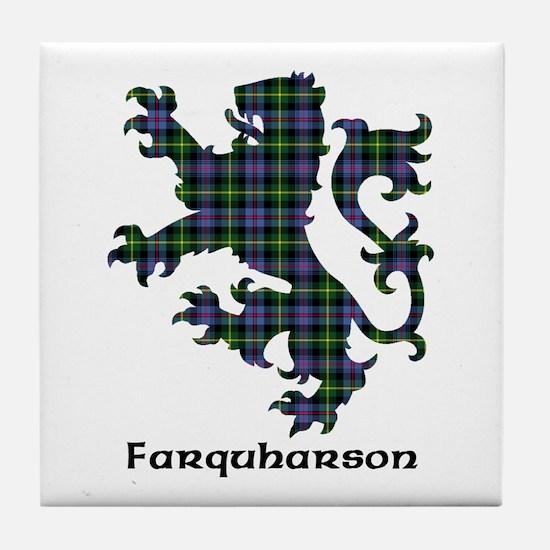 Lion - Farquharson Tile Coaster