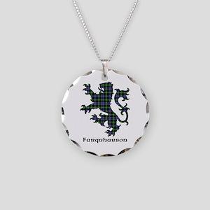 Lion - Farquharson Necklace Circle Charm