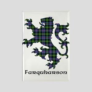 Lion - Farquharson Rectangle Magnet