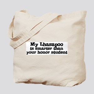 Honor Student: My Lhasapoo Tote Bag