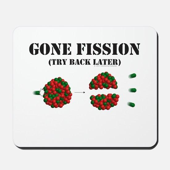 Gone Fission Mousepad