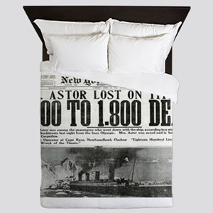 New York American Queen Duvet