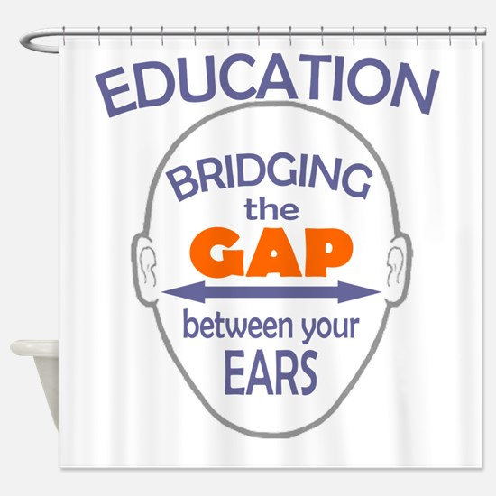 Bridging The Gap Shower Curtain