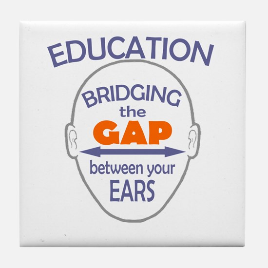 Bridging The Gap Tile Coaster