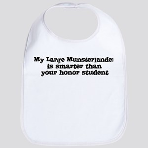 Honor Student: My Large Munst Bib