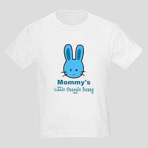 Mommy's Snuggle Bunny (boy) Kids Light T-Shirt