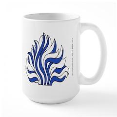 Quarterly and Flame Large Mug