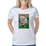 Micro pig with carrot Women's Classic T-Shirt