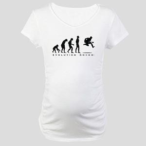 Evolution Rocks Maternity T-Shirt