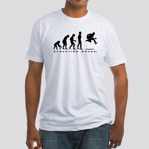 Evolution Rocks Fitted T-Shirt