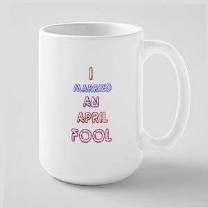 April Fool's Day Humor Large Mug