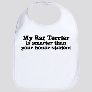 Honor Student: My Rat Terrier Bib