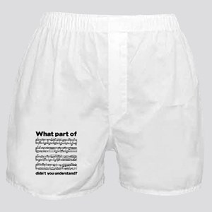 Partiture Boxer Shorts