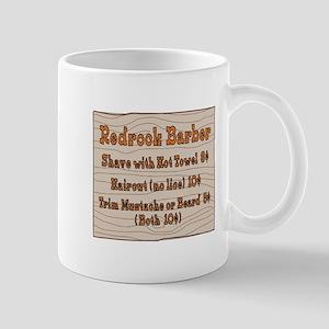 Old West Signs Redrock Barber Mug