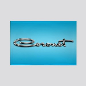 Coronet Emblem Rectangle Magnet
