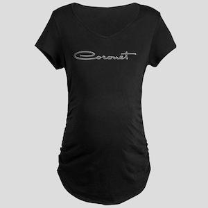 Coronet Emblem Maternity Dark T-Shirt