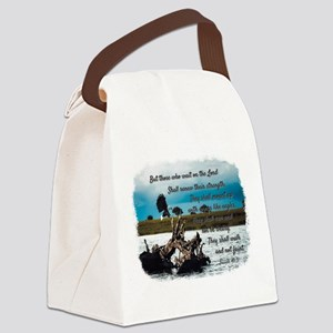 Eagle Isaiah 40:31 Canvas Lunch Bag
