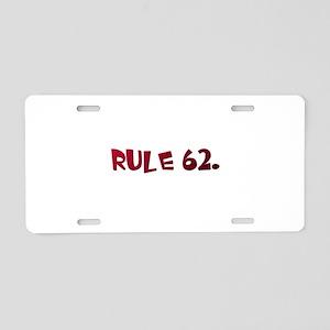 AA Aluminum License Plate