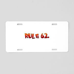 AB Aluminum License Plate