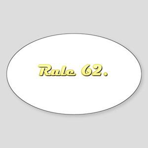 FA Sticker (Oval)