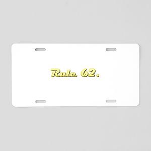 FA Aluminum License Plate