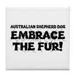 Australian Shepherd Dog Tile Coaster