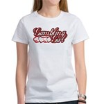 Gambling Girl Women's T-Shirt